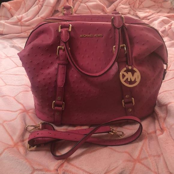 Michael Kors Handbags - Pink Michael Kors Bedford Bag. New!
